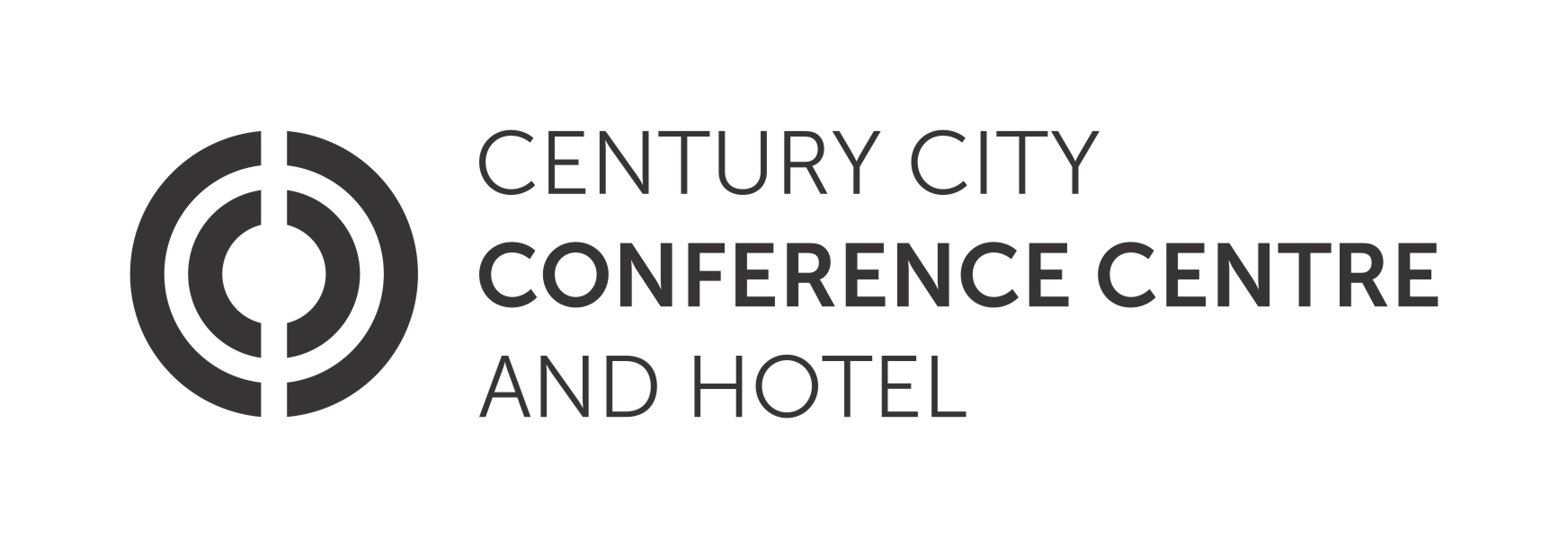 CENTURY CITY CONFERENCE CENTRE AND HOTEL LOGO LANDSCAPE
